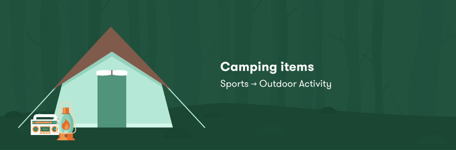 buying intention segments-camping